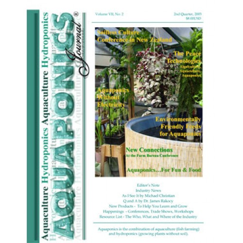 Aquaponics Journal Back Issue Printed 29 • Nelson & Pade