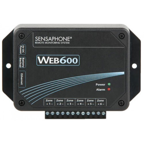 Web 600 Aquaponics Monitoring Package wSensors and Battery Back-Up