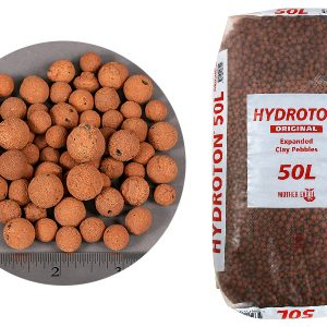 Hydroton, expanded clay for aquaponics