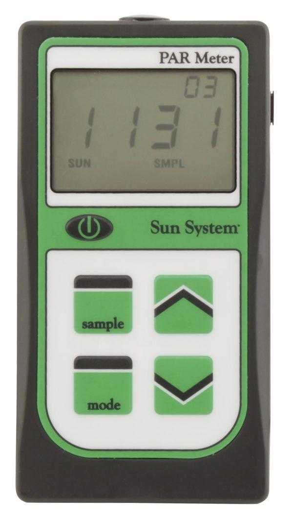 PAR Light Meter with Integrated Sensor
