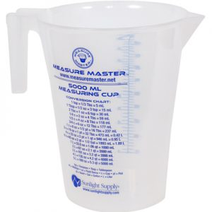 measure-master graduated container