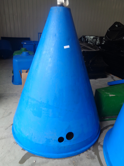 Large Cone Shaped Tank Nelson Amp Pade Aquaponics