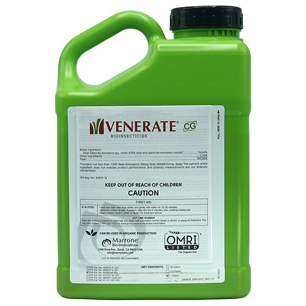 Venerate CG - Gallon - Controls Thrips, mites, aphids