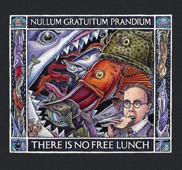 Ray Troll No Free Lunch T-shirt