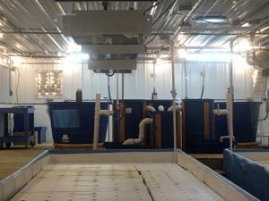 Aquaponic MicroFarm 2 indoors