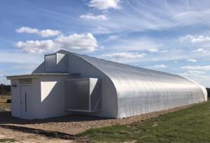 Aquaponic MicroFarm greenhouse 3